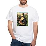 Mona Lisa's Dachshunds White T-Shirt