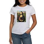 Mona Lisa's Dachshunds Women's T-Shirt