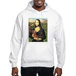 Mona Lisa's Dachshunds Hooded Sweatshirt