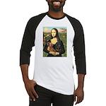 Mona Lisa's Dachshunds Baseball Jersey
