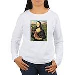 Mona Lisa's Dachshunds Women's Long Sleeve T-Shirt