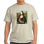 Mona Lisa's Dachshunds Light T-Shirt