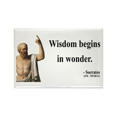 Socrates 2 Rectangle Magnet (10 pack)