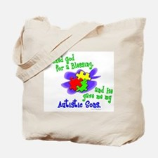 Blessing 2 (Autistic Sons) Tote Bag