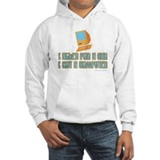 I asked for a car Hoodie
