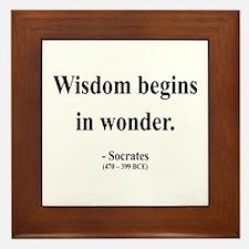 Socrates 2 Framed Tile