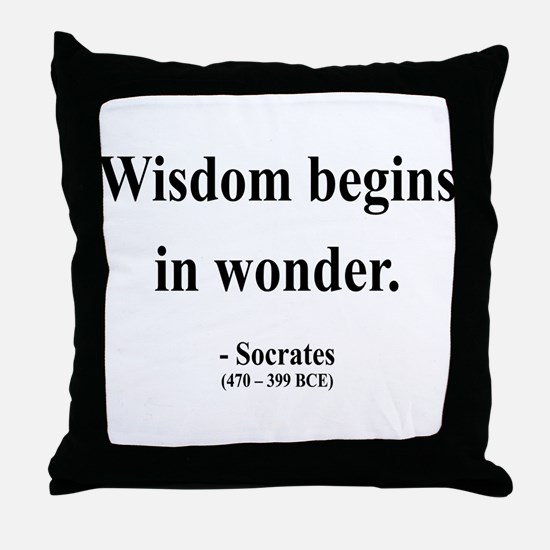Socrates 2 Throw Pillow