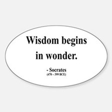 Socrates 2 Oval Decal
