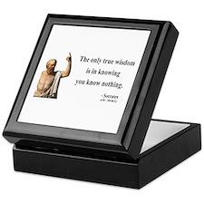 Socrates 3 Keepsake Box