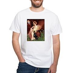 Seated Angel & Dobie Shirt
