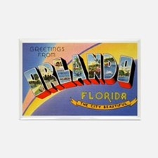 Orlando Florida Greetings Rectangle Magnet