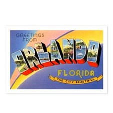 Orlando Florida Greetings Postcards (Package of 8)