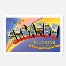 Orlando Florida Greetings Postcards (Package of 8)