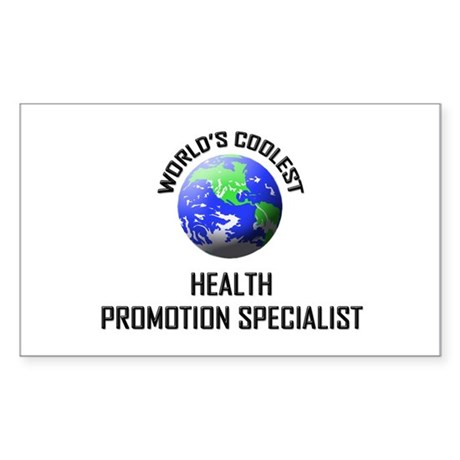 World's Coolest HEALTH PROMOTION SPECIALIST Sticke