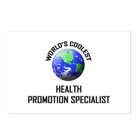 World's Coolest HEALTH PROMOTION SPECIALIST Postca