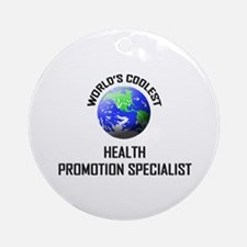 World's Coolest HEALTH PROMOTION SPECIALIST Orname