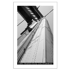 San Francisco, California Black and White Posters
