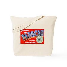 Paducah Kentucky Greetings Tote Bag