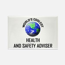 World's Coolest HEALTH AND SAFETY ADVISER Rectangl