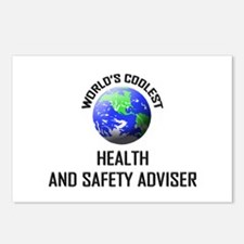 World's Coolest HEALTH AND SAFETY ADVISER Postcard