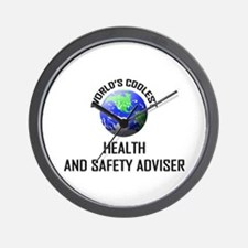 World's Coolest HEALTH AND SAFETY ADVISER Wall Clo