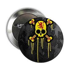 "Scottish Punk Skull 2.25"" Button"