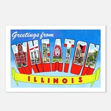 Wheaton Illinois Greetings Postcards (Package of 8