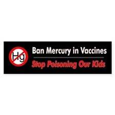 No Mercury (Bumper Sticker)
