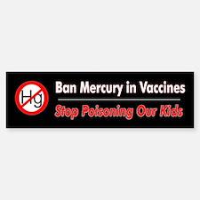 No Mercury (Bumper Sticker)