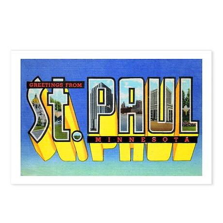 St. Paul Minnesota Greetings Postcards (Package of