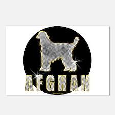 Bling Afghan Postcards (Package of 8)
