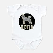 Bling Akita Infant Bodysuit