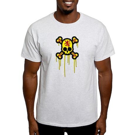 Scottish Punk Skull Light T-Shirt