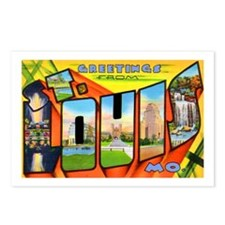 St. Louis Missouri Greetings Postcards (Package of