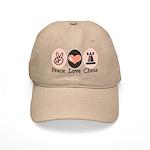 Peace Love Rook Chess Cap