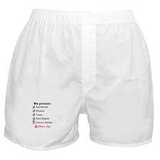 We Protect Boxer Shorts