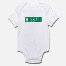 58th Street in NY Infant Bodysuit
