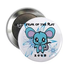 "2008 Year of the Rat 2.25"" Button"