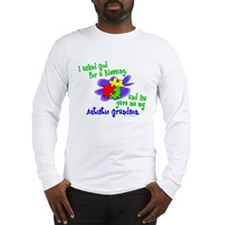 Blessing 2 (Autistic Grandson) Long Sleeve T-Shirt