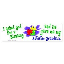 Blessing 2 (Autistic Grandson) Bumper Bumper Sticker