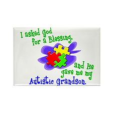 Blessing 2 (Autistic Grandson) Rectangle Magnet