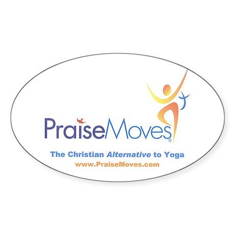 PraiseMoves sticker for Exercise mat or ???