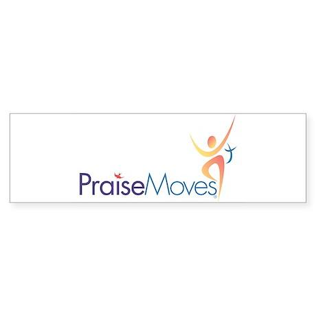 PraiseMoves Sticker for Exercise Mat or Bumper