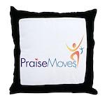 PraiseMoves Throw Pillow