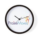 PraiseMoves Wall Clock
