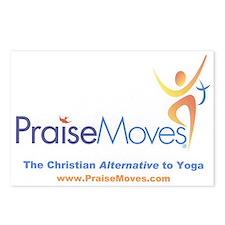 PraiseMoves Postcards (Package of 8)