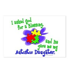 Blessing 2 (Autistic Daughter) Postcards (Package
