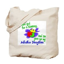 Blessing 2 (Autistic Daughter) Tote Bag