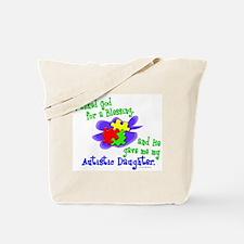 Blessing 2 (Autistic Daughter) Tote Bag