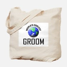 World's Coolest GROOM Tote Bag